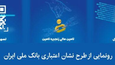 Photo of «نشان اعتباری» بانک ملی ایران رونمایی شد